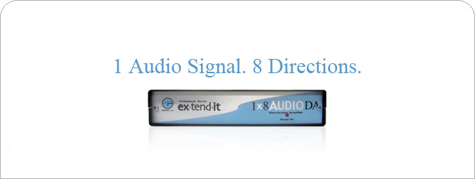 1x8 Audio DA - EXT-AUD-148