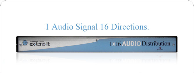 1x16 Audio DA - EXT-AUD-14816