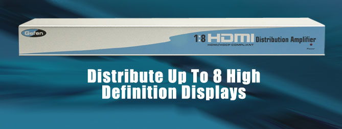 1x8 HDMI Distribution Amplifier - EXT-HDMI-148