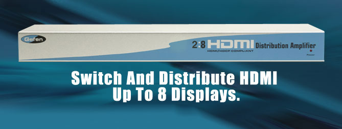 2x8 HDMI Distribution Amplifier - EXT-HDMI-248
