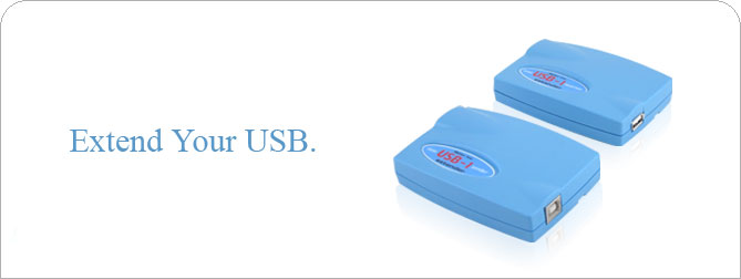 Mini USB-1 extender - EXT-USB-MINI