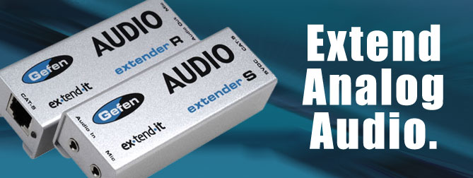 Audio Extender - EXT-AUD-1000
