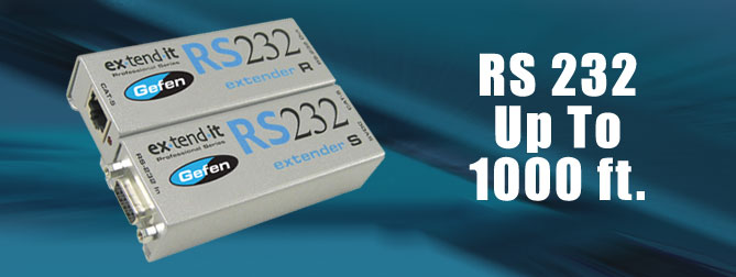 RS232 extender - EXT-RS232