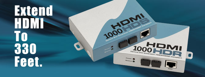 HDMI�1000 HD Kits#4 300 ft. Extension - EXT-HDMI-1
