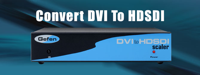 DVI to HD-SDI PLUS Scaler Box (Preorder) - EXT-DVI