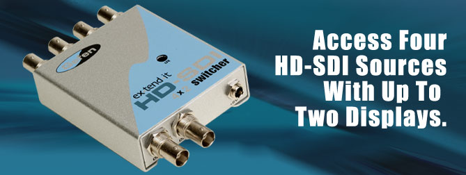4x2 HD-SDI Switcher - EXT-HDSDI-442
