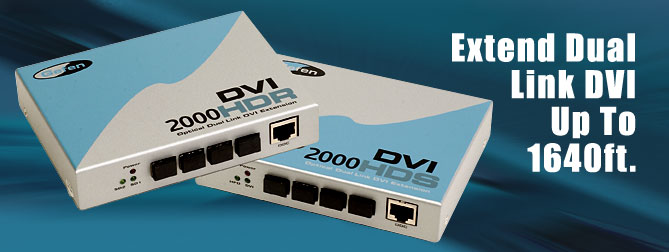 DVI�2000 HD Kits#2 100 ft. Extension - EXT-DVI-200