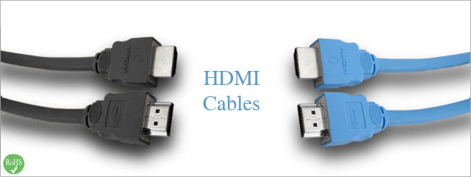 HDMI Cable 1 ft Black - CAB-HDMI-BLK-01MM