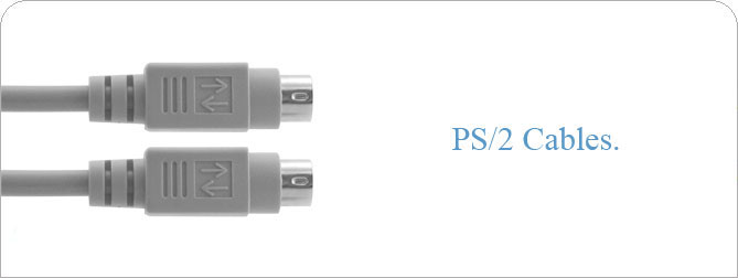 6 ft PS/2 Cable (M-F)