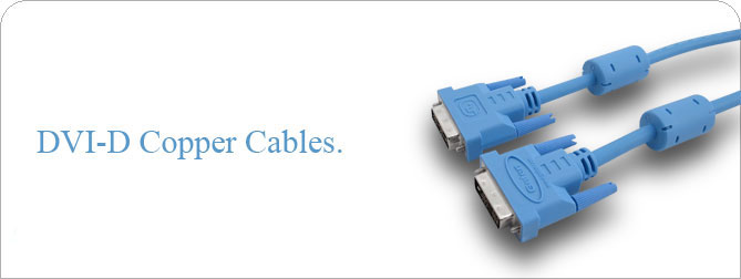 DVI-D Copper Cable 6 ft (M-F) - CAB-DVIC-06MF