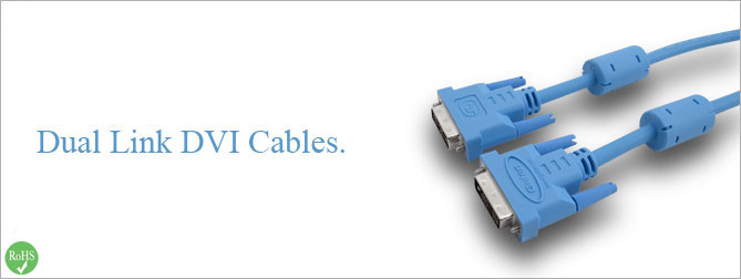 Dual Link DVI Cable 6 ft (M-M) - CAB-DVIC-DL-06MM