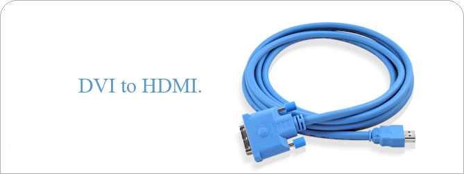DVI to HDMI Cable 6 ft (M-M) - CAB-DVI2HDMI-06MM