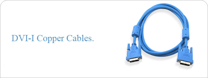 DVI-I Copper Cable 10 ft (M-M) - CAB-DVICI-10MM