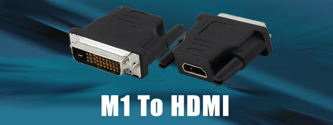 M1 to HDMI Adapter