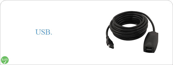 Active USB 2.0 16 ft Cable