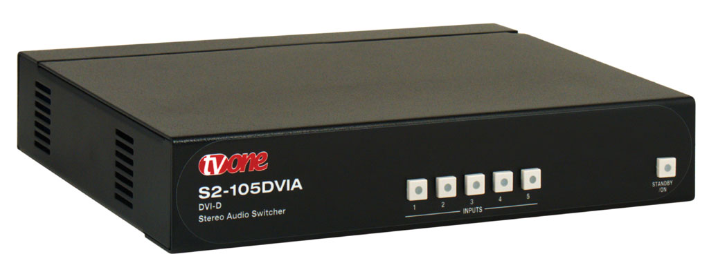 TV ONE S2-105DVIA Switcher