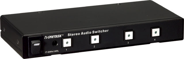 TV ONE 1TSW4x1ARL AudioRouting Switcher