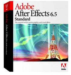 Adobe After Effects 6.5 Standard - MAC