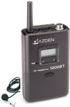 Azden 1200BT UHF Body-Pack Bodypack