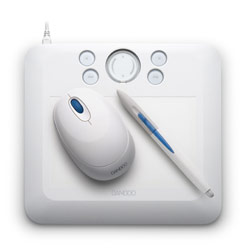 Wacom Bamboo Fun Tablet Small White CTE450W