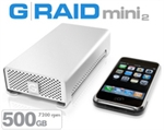 G-Tech G-RAID mini2 500GB 7200 RPM GRM2-50072K
