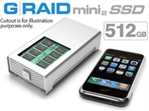 G-Tech G-RAID mini2 SSD 500GB GRM2SSD500