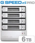 G-Tech G-SPEED eS PRO 6TB GSESPRO6TB