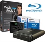 Sony Vegas Movie Studio 9 PlatinumPro Blu-rayDisc