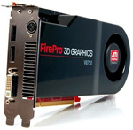ATI FIREPRO V8750 2GB PCIE Video Card 100-505556