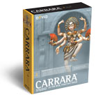 Carrara Studio 2, 3D Modeling and Animation