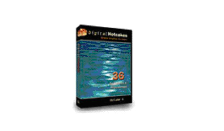 Digital Hotcakes Animated Aquadrops Volume4DVD