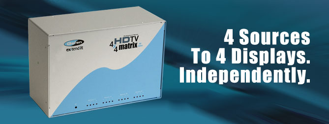 4x4 HDTV Matrix (Discontinued) - EXT-HDTV-444