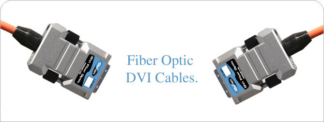 DVIFO DVI-D Fiber Optic Cable 166 ft (M-M)