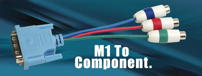 M1 to Component Adapter