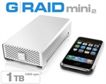 G-Tech G-RAID mini2 1TB 5400 RPM GRM2-1TB